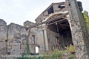 Viterbo - La chiesa di Valle Faul