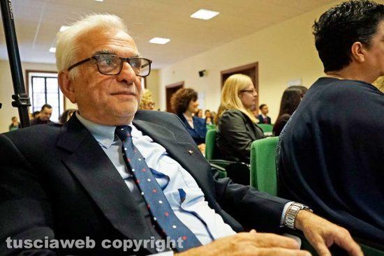 Viterbo - Il professor Valerio Oliva
