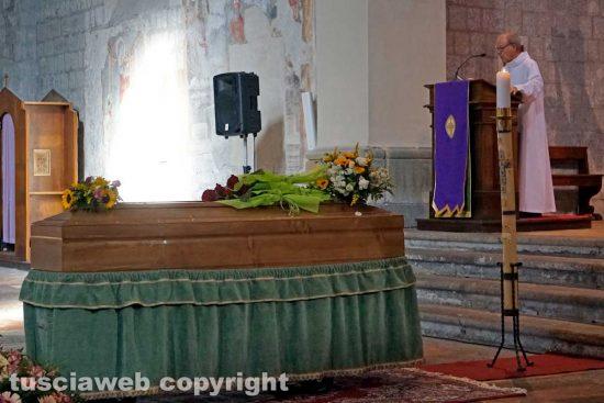 Viterbo - I funerali di Teresa Blasi