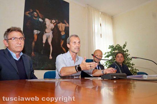 Viterbo - La firma delle convenzioni tra Cgil e Unitus