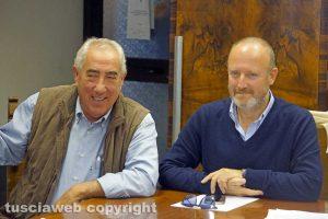 Viterbo - Antonio Scardozzi e Luigi Buzzi