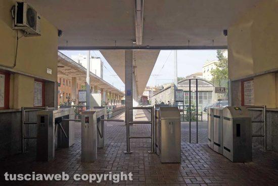 Viterbo - La ferrovia Roma nord