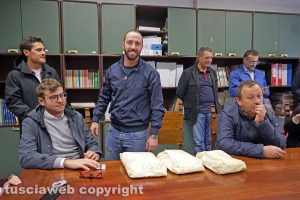 Viterbo - Matteo Achilli festeggia il compleanno