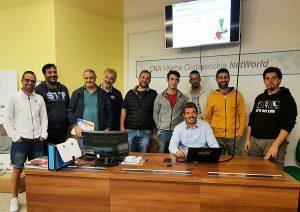 Economia - I partecipanti al corso F-gas di Cna
