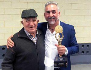 Premio alla carriera per Carmelo Pira all'Italian cheese awards