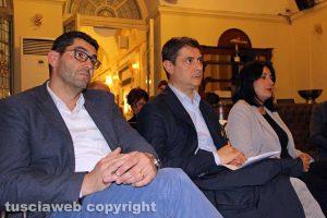 Viterbo - Giacomo Barelli, Alessandro Mazzoli ed Elena Tolomei