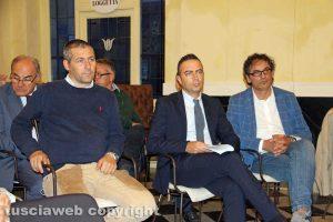 Viterbo - Enrico Pasquinelli, Pietro Nocchi e Massimo Erbetti