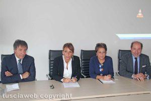 Viterbo - La conferenza di presentazione del nuovo dipartimento della salute della donna e del bambino
