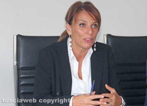 Viterbo - La conferenza di presentazione del nuovo dipartimento della salute della donna e del bambino - Daniela Donetti