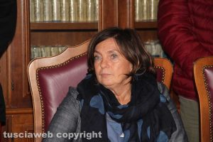 Elda Gente Magnani, direttrice dell'ispettorato territoriale del lavoro di Viterbo