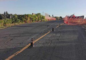 Montalto - Strada delle Murelle - Le condizioni in cui versa il cavalcaferrovia