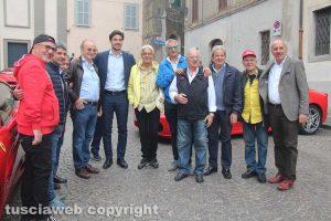 Bassano Romano - Il sindaco con il Club Ferrari Roma Appia Antica