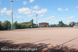 Sport - Calcio - I lavori al campo del Pilastro