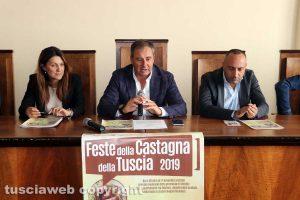 Viterbo - Camera di Commercio - Presentazione Feste dalla castagna 2019