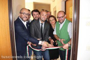 Viterbo - FdI - Taglio del nastro alla sede in Largo Garbini