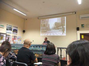 Civita di Bagnoregio - Cna - Un momento della masterclass di Luca Raffaelli