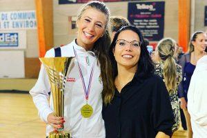 Sport - Pattinaggio artistico - Ludovica Delfino ed Elisa Cascioli