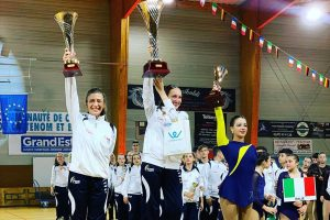 Sport - Pattinaggio artistico - Ludovica Delfino sul podio di Hettange-Grande