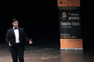 Premio Ricci - Finale '19 - L'esecuzione di Martella