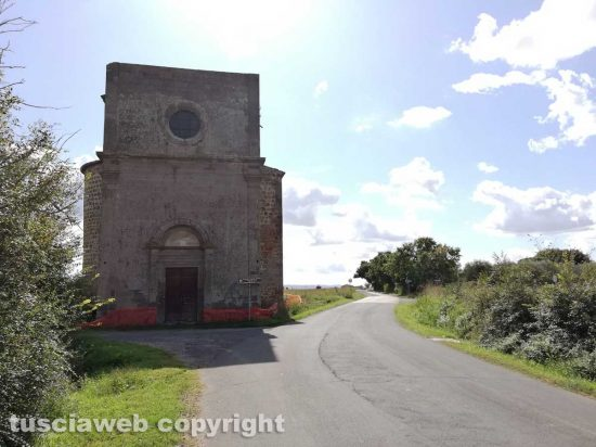 Tuscania - La chiesa della Madonna dell'Olivo