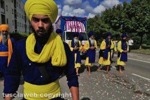 Viterbo - Il corteo dei sikh