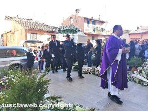 Montalto di Castro - I funerali di Jessica Bussi