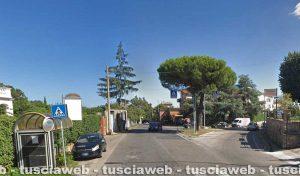 Ronciglione - Il luogo dell'incidente