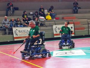 Powerchair hockey - La Vitersport Libertas