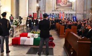 Trieste - I funerali degli agenti Pierluigi Trieste - I funerali degli agenti Pierluigi Rotta e Matteo Demenego