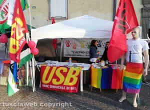 Viterbo - Sindacati e associazioni in piazza contro caporalato e lavoro nero