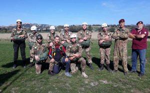 Viterbo - Paracadutisti Anpd'I della sezione di Viterbo