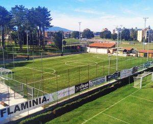 Sport - Calcio - Civita Castellana - Il nuovo campo della Flaminia