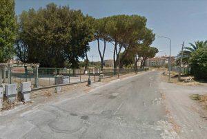 Viterbo - Via del Campo scolastico