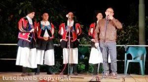 La festa dell'associazione Sardegna in Tuscia