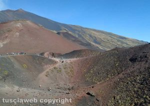 I crateri dell'Etna