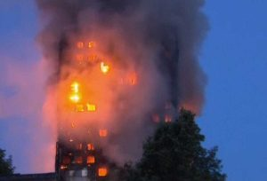 Londra - Incendio Grenfell tower