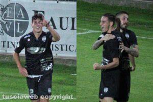 Sport - Calcio - Viterbese - Da sinistra: Marco Simonelli e Davide Sibilia