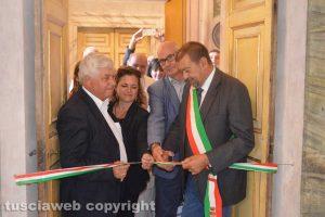 Tarquinia - L'inaugurazione del salone di palazzo Bruschi Falgari