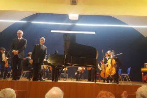 Viterbo - Il concerto inaugurale all'Unitus