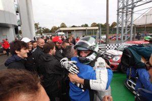 Sandrucci trionfa a Monza e festeggia la vittoria del Mini challenge