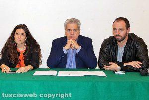 Antonella Sberna, Giovanni Arena e Matteo Achilli