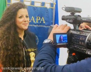 Chiara Frontini premiata al Bpw cup