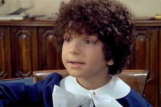 Paco Fabrini da piccolo in uno dei film con Tomas Milian