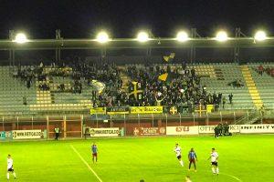 Sport - Calcio - Viterbese - i tifosi gialloblù a Rieti