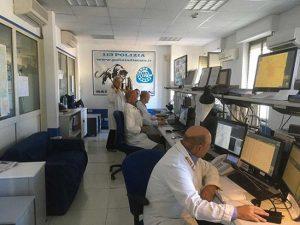 Viterbo - Polizia - La sala operativa