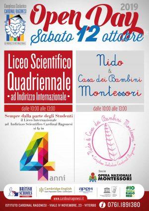 Open day al Complesso Scolastico Cardinal Ragonesi
