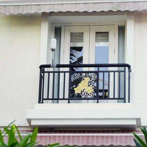 Un esempio di installazione a balcone