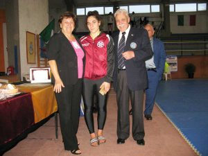 Fabrica di Roma - Gara internazionale di judo - Sara Corbo