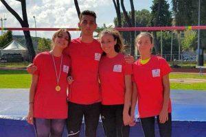Sport - Atletica leggera - I vincitori dell'alto