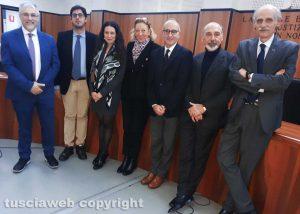 Tribunale - Inaugurata la sala delle aste telematiche